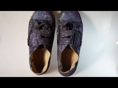 How To Create Galaxy Printed Shoes - DIY Crafts Tutorial - Guidecentral