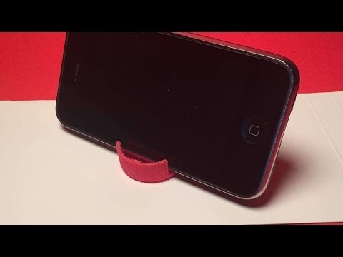 How To Create Two Easy Portable Smartphone Stands - DIY Crafts Tutorial - Guidecentral