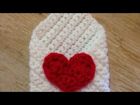How To Crochet A Lovely Envelope For Valentines Day - DIY Crafts Tutorial - Guidecentral