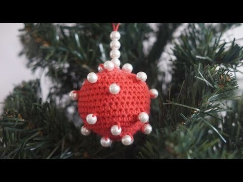 How To Crochet A Pearl Ornament For The Christmas Tree - DIY Crafts Tutorial - Guidecentral
