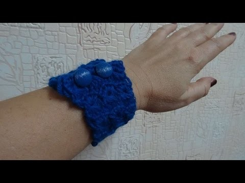 How To Crochet A Sea Wave Bracelet - DIY Crafts Tutorial - Guidecentral