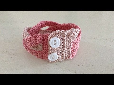 How To Crochet A Yarn Bracelet - DIY Crafts Tutorial - Guidecentral