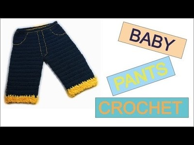 How to crochet baby pants Free tutorial pattern by wwwika