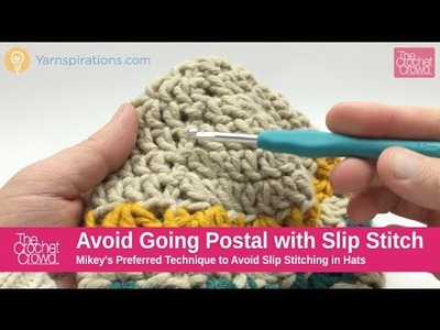 How To Crochet: How to Avoid Seam Lines in Hats