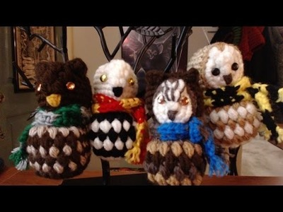How to Crochet Owls - 4 different styles