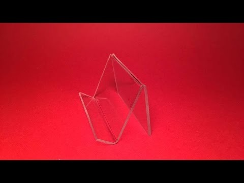 How To DIY An Easy Plexiglass Smartphone Stand - DIY Crafts Tutorial - Guidecentral