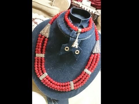 How to DIY Beaded Necklace | How to DIY Beaded Necklace + Tutorial .