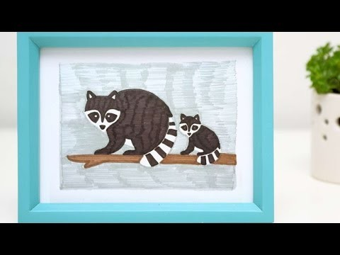 How To Draw Cute Raccoons - DIY Crafts Tutorial - Guidecentral