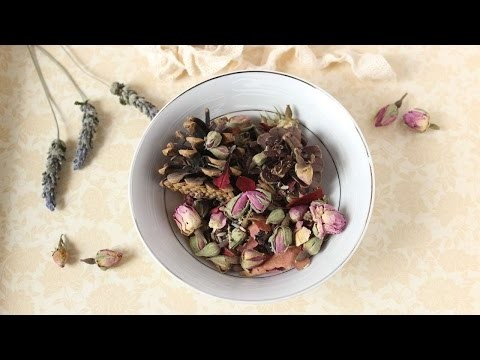 How To Dried Flowers Pot Pourri - DIY Crafts Tutorial - Guidecentral