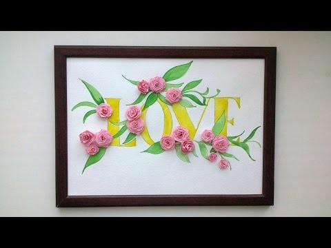 How To Make A Beautiful Picture Of Love - DIY Crafts Tutorial - Guidecentral