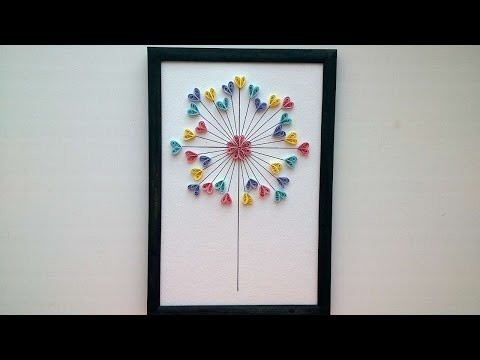 How To Make A Beautiful Picture Using A Quilling Technique - DIY Crafts Tutorial - Guidecentral