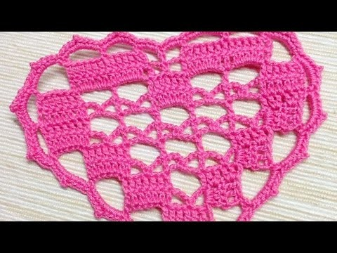 How To Make A Crocheted Lovely Heart Applique - DIY Crafts Tutorial - Guidecentral