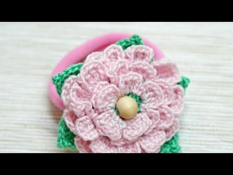 How To Make A Crocheted Tender Flower Hair Band - DIY Crafts Tutorial - Guidecentral