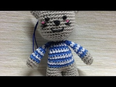 How To Make A Cute Amigurumi Crocheted Sailor Cat - DIY Crafts Tutorial - Guidecentral
