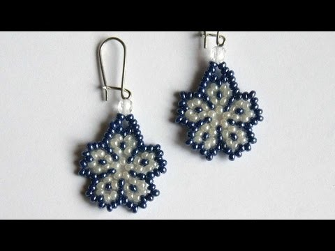 How To Make A Cute Flower Earrings - DIY Crafts Tutorial - Guidecentral