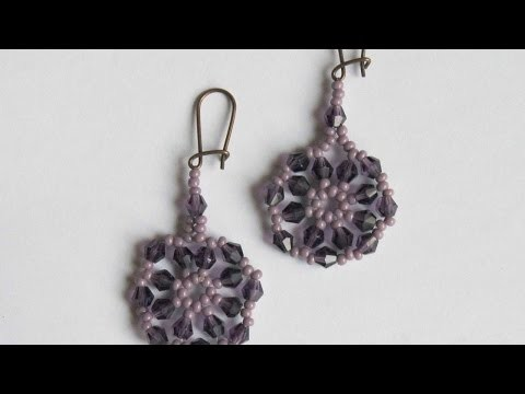 How To Make A Cute Purple Earrings - DIY Crafts Tutorial - Guidecentral