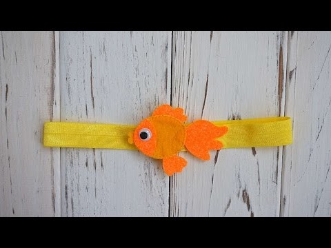 How To Make A Felt Hairband - DIY Crafts Tutorial - Guidecentral