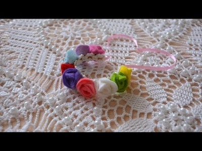 How To Make A Felt Rose Bracelet - DIY Crafts Tutorial - Guidecentral