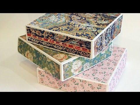 How To Make A Gift Box In 30 Minutes - DIY Crafts Tutorial - Guidecentral