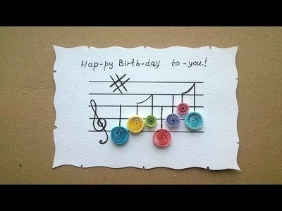 How To Make A Happy Birthday Greeting Card - DIY Crafts Tutorial - Guidecentral