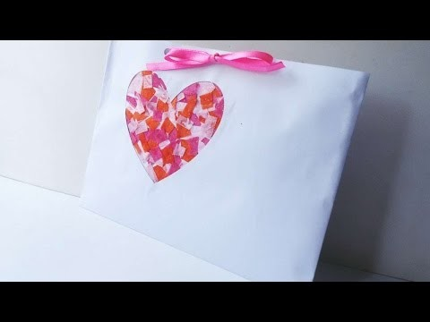 How To Make A Heart Patch Art  Envelop - DIY Crafts Tutorial - Guidecentral