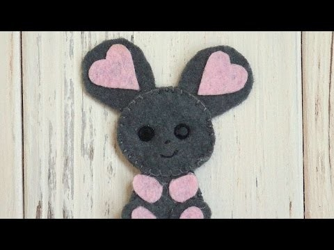 How To Make A Lovely Felt Mouse - DIY Crafts Tutorial - Guidecentral