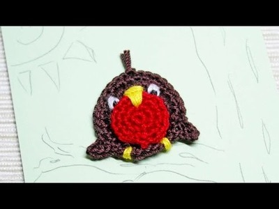 How To Make A Nice Little Crocheted Applique Robin - DIY Crafts Tutorial - Guidecentral