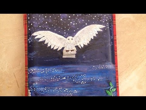 How To Make A Polyclay Magic Owl Book Cover - DIY Crafts Tutorial - Guidecentral