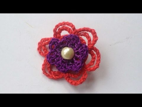 How To Make A Pretty Crochet Flower Brooch - DIY Crafts Tutorial - Guidecentral