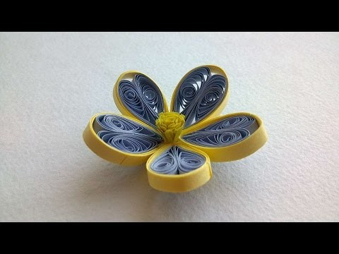 How To Make A Pretty Quilled Flower - DIY Crafts Tutorial - Guidecentral