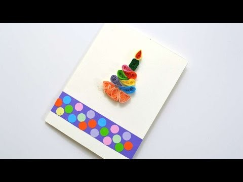 How To Make An Easy Quilling Card - DIY Crafts Tutorial - Guidecentral