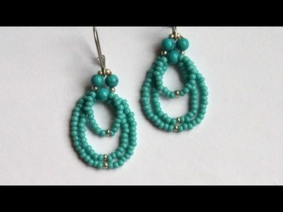 How To Make Cute Beaded Earrings - DIY Crafts Tutorial - Guidecentral