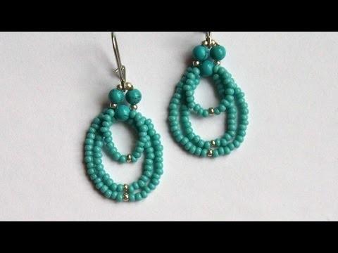How To Make Cute Beaded Earrings - DIY Crafts Tutorial - Guidecentral