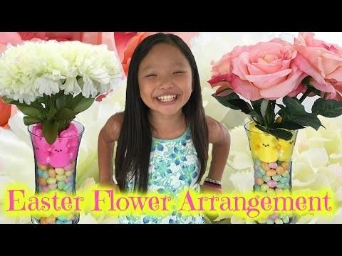 How to Make Easter Flower Arrangement | Quick & Easy DIY for Spring