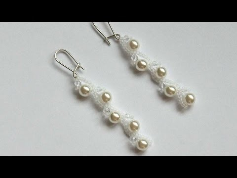 How To Make Long Earrings With Pearls - DIY Crafts Tutorial - Guidecentral