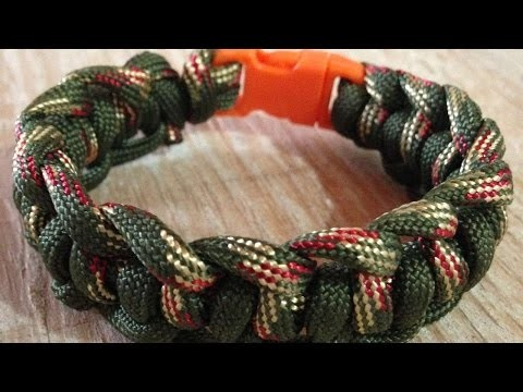 How To Make The Genoese Survival Paracord Bracelet - DIY Crafts Tutorial - Guidecentral