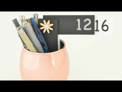 How To Make Your Own Perpetual Calendar - DIY Crafts Tutorial - Guidecentral
