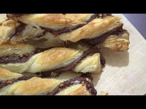 How To Prepare Delicious Bread Sticks With Nutella - DIY Crafts Tutorial - Guidecentral