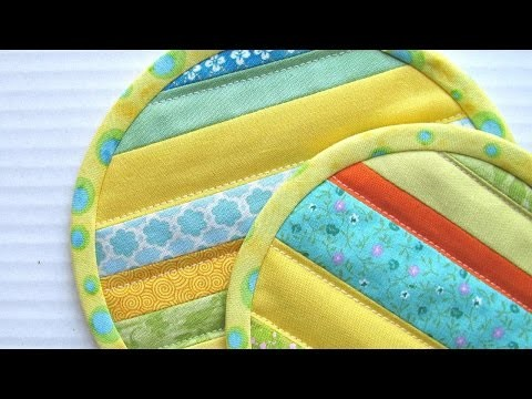 How To Sew Quilt Coasters - DIY Crafts Tutorial - Guidecentral