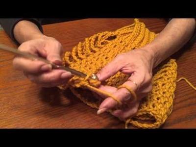 Jacob's Ladder Crochet Stitch