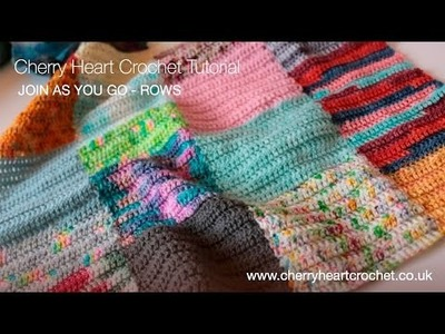 Join As You Go Crochet - Working in Rows
