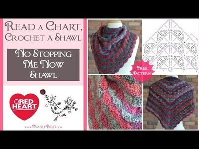 Learn to Read a Crochet Chart and Crochet a Shawl with Marly Bird