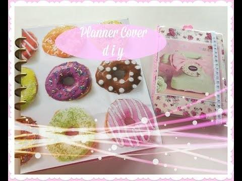 PLANNER COVER DIY! Happy Planner & Dollar Tree Planner