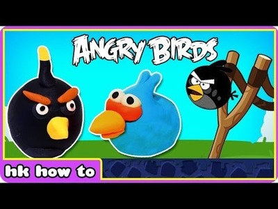 Play Doh ANGRY BIRDS | Fun Surprise Toys | Easy DIY Play Doh Creation