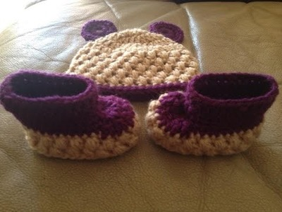 Puff stitch beanie crochet in Tamil.English
