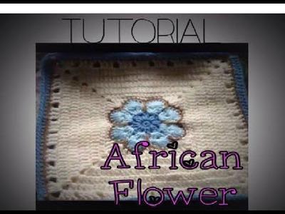 African Flower Crochet Tutorial