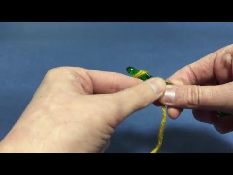 Beginning Crochet: Chain Stitch