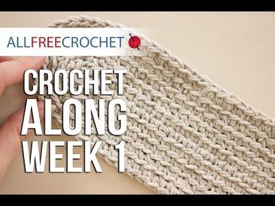 Crochet Along: Week 1- Bottom of Bag