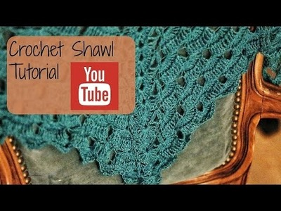 Crochet shawl tutorial (Row 6-9)