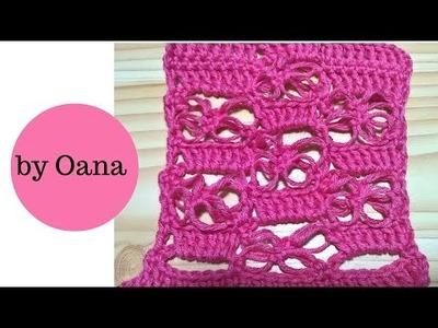 Crochet Solomon's Knot & Double crochet pattern
